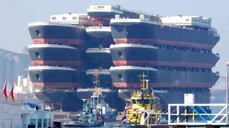 世界上最大的船Top10,每艘都犹如海上移动的城市!(下)