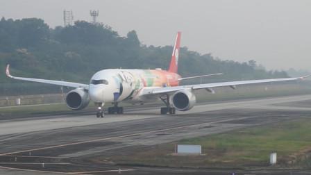 川航A350和成都航空A320相继起飞,作为四川人更喜欢哪家?