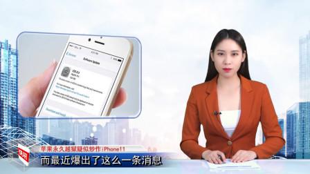 """苹果永久""""越狱""""疑似炒作iPhone 11,专家:需进一步核实"""