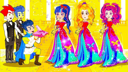 制作衣服比赛,谁做的衣服最难看?小马国女孩游戏