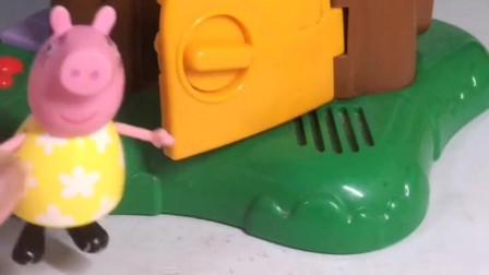 少儿益智亲子玩具:猪爸爸好调皮,本来想逗一下猪妈妈,结果被猪妈妈整了!