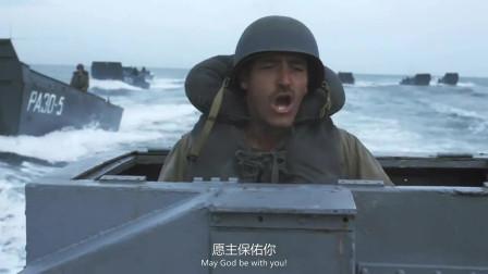 拯救大兵瑞恩:盟军诺曼底登陆,很多士兵连岸都没上就在了海里