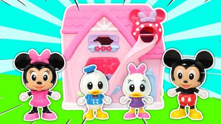 国庆长假拆迪士尼玩具唐老鸭参观米奇的家