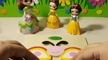 育儿亲子游戏玩具:小白雪拼得对吗