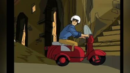 成龙历险记第二季9龙叔大秀车技,苦的是老爹的身子骨