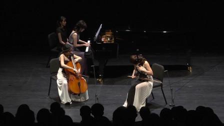 三重奏《孤恋花》,张瑟涵二胡,张心维大提琴,陈汶青钢琴