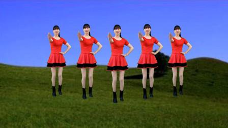 正能量广场舞《干就完了》金久哲演唱,节奏动感,好听又好看!