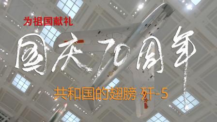 """为祖国70华诞献礼!共和国的翅膀,屡建战功的""""歼-5"""""""