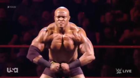 WWE:莱斯利引以为傲的健美肌肉,竟被克鲁斯分分钟击败!