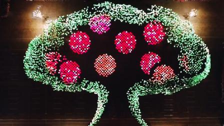 首都国庆联欢活动 主题表演在希望的田野上