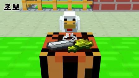我的世界动画-村民炼药-LEX