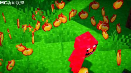 我的世界动画-如果树上掉金苹果-Orepros