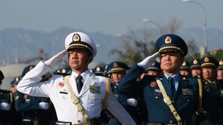 最高龄59岁!一排面25名将军!领导指挥方队阅兵训练现场来了
