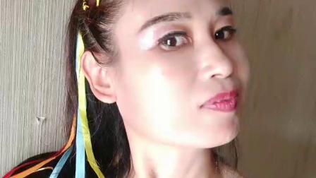 【任如意】庆国庆我的演出发型漂亮又个性