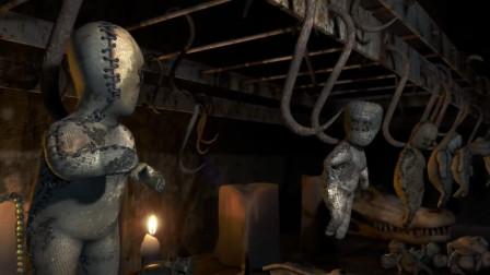 治愈短片:被困在铁钩上的巫毒娃娃为了让同伴自由,牺牲了自己