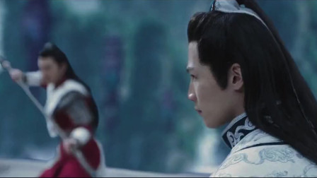 太白剑现世,群雄并起,美女一手暗器玩得真华丽!