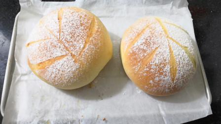 面包最好吃的做法,只要一个小烤箱,蓬松拉丝的面包在家就可以做