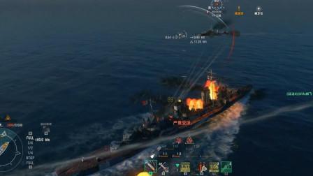 战舰世界:你见过这么强的哈巴狗驱逐舰吗?