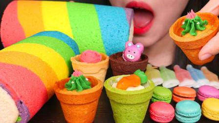 生活漫话 七彩零食胃口大开,收集这么多颜色,难道能召唤美味?