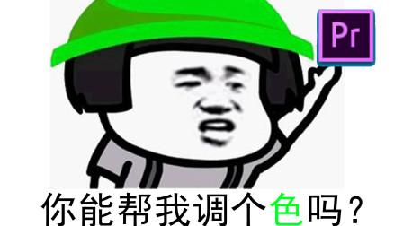 【PR教程】PR2019零基础调色入门教程05色调