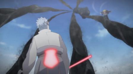 火影忍者:两个下忍联手打伤了大筒木一族的人,大筒木浦式你可以退群了