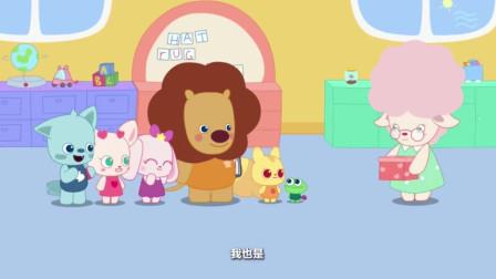 小鹿杏仁儿动画片:小朋友们都很喜欢白雪公主,那谁来当小矮人呢