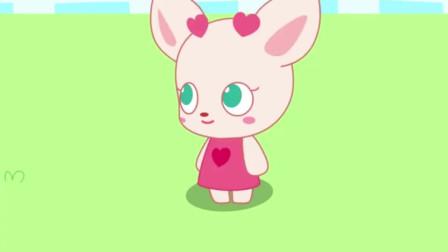 小鹿杏仁儿动画片:小朋友都吃了棉花糖,云朵的味道肯定比棉花糖更好吃