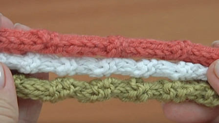 钩针绳带系列又来啦,一款竹节绳教程,配斜挎包包真的很好看!