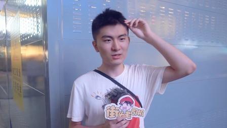 你想对中国男篮说什么?主持人调侃被带偏成正能量,球迷小哥爱了