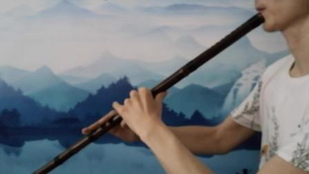 民乐洞箫吹奏一曲《我和我的祖国》,祝福祖国70华诞