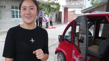 花2000元买的电动小汽车,一次能跑50km,还不要驾照,靠谱吗?