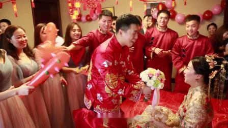 20191002王维诚&敬司航婚礼席前快剪-营口爱诺