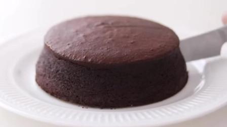 巧克力蛋奶酥芝士蛋糕,简单的蛋糕烘焙diy教程