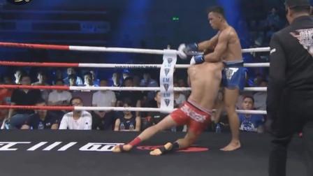 中国勇士遭遇泰拳高手,敢打敢拼却遗憾败北!