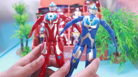 腾飞说玩具之奥特蛋 蓝色的银河奥特曼你们见过吗?