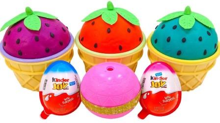 《傻喵食玩》:DIY拆箱食玩(1192)!草莓冰淇淋杯!