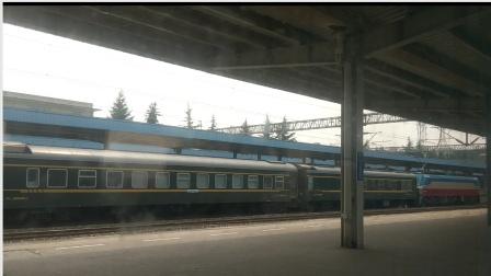 SS7D0024西局安段K997海拉尔-成都南充站停车13:14