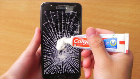 牙膏可以修复手机屏幕的刮痕吗?老外亲身测试,告诉你答案!