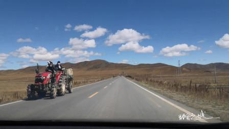 若尔盖大草原之旅第二天--10月2日行驶在九红草原风光路上_02