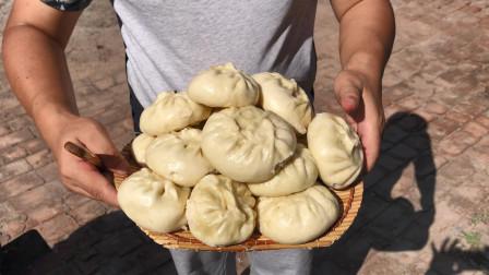 媳妇要求吃韭菜包子,蒙哥蒸包子三大锅,让她吃个够