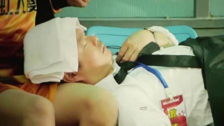 西虹市首富:教练下飞机呕吐也就罢了,竟然还躺在了座椅上