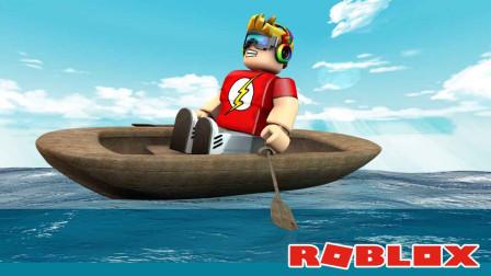 老旅解说Roblox罗布乐思造船寻宝:奇思妙想的船我们来探寻宝藏
