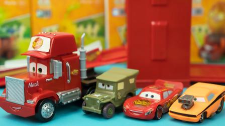 汽车总动员麦大叔变形赛道玩具