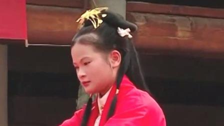 超级新闻场 2019 广西南宁:再现汉代女子成人礼 传承中华传统文化