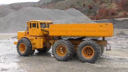 最新挖掘机视频表演1022大卡车运输挖土机+挖机工作+工程车