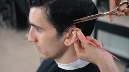 男士想留长发怎样修剪发型,男发精剪款发型修剪