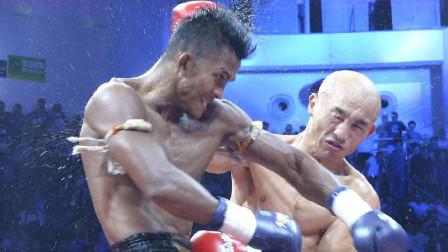 徐琰vs播求 武僧一龙VS泰拳王播求 拳拳到肉 场面极度凶狠