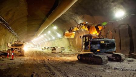 全智能型混凝土喷射机,能在隧道内自动定位,大大提升了工作效率