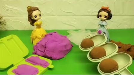 白雪公主:贝儿的冰激凌pk白雪的巧克力!