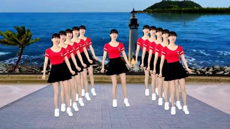 广场舞《火苗》草原情歌,热情奔放,好听更好看!